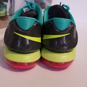 the best attitude a7deb a1d53 Nike Shoes - Nike Zoom Kd 7 Vii Womens Shoes Grass Green Yellow